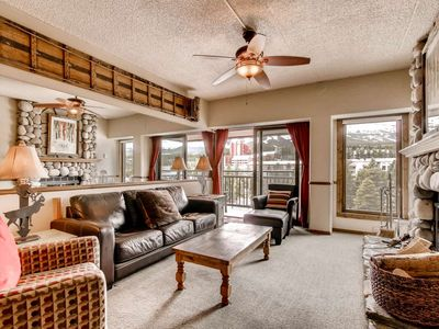 Photo for POOL! Downtown Penthouse -180 Degree Views of Slopes Pool/HotTubs/Fitness-by iTrip