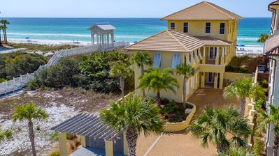 Photo for BEACH FRONT Family Villa in Carillon Beach - 5 Bd with Guest House Included