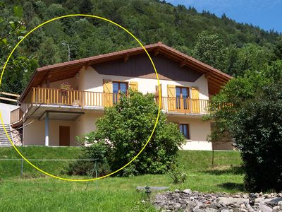 Photo for Terraced house for 6 to 11 people, La Bresse, OCTOBER: € 370 / WEEK! !