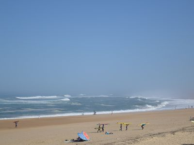 Photo for Apartment Hossegor beachfront with magnificent ocean view
