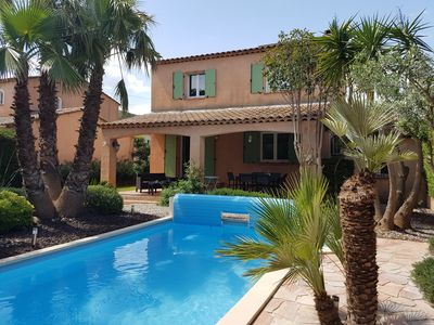 Photo for Nice house with swimming pool in peace, very well equipped