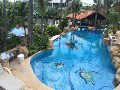 Awesome Luxurious Vacation Home With Pool On Canal Dock Private And Quiet Key West Interior Design Ideas Gentotryabchikinfo
