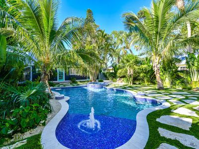 Photo for Experience the BEST Backyard Pool on AMI! Beautifully Renovated Beach Cottage!