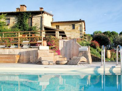 Photo for Vacation home Podere San Lorenzo (SGI470) in San Gimignano - 8 persons, 4 bedrooms