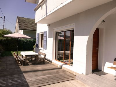 Photo for Garden level apartment in a villa in Annecy le Vieux, sleeps 4- 5 persons