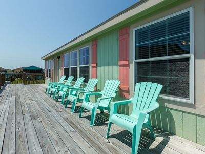Photo for Dog-friendly, oceanview home moments from beach, restaurants, and more