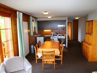 Photo for 2* - 3-bedroom-apartment for 6-10 people closed to the departure of the l'Ours lift. Bright living r