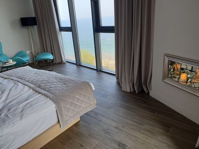 Photo for Beachfront Sea View Apartment with 2 bedrooms | right-on-the-beach