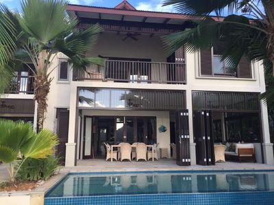 Photo for 03 bedrooms mansion with private swimming pool on Eden Island-SHA 10