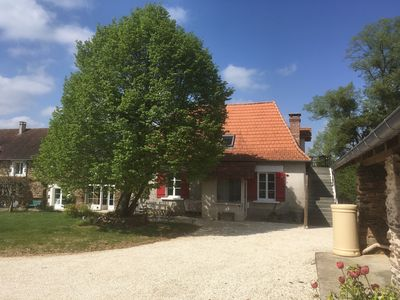Photo for Nice independent apartment in an old farmhouse