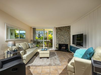 Photo for Beautiful Garden Views, Peek Ocean View, Stylish Interior at NCV