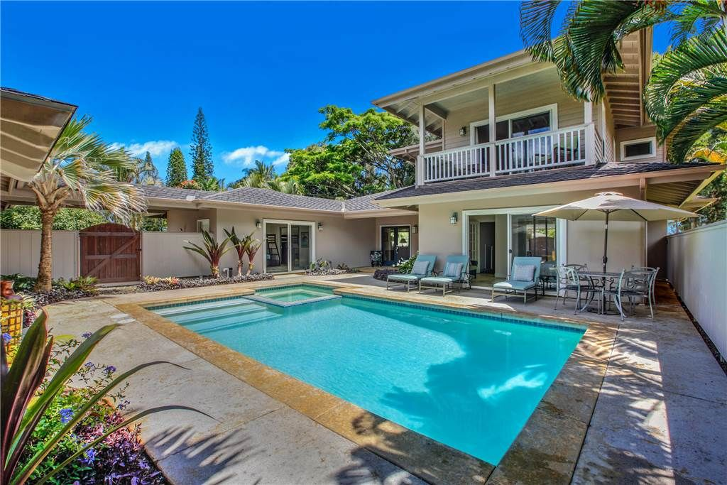 Lovely 4 Bedroom Home With Private Pool On Kauais Lush North S