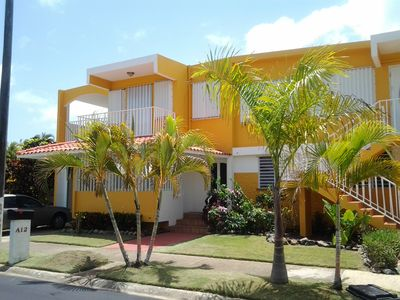 Cool breezes flow thru this (ground floor) Tropical Custom Town Home