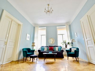 Photo for Elegant, Stylish Apt by River National Theatre, Old Town 1 min, Ch-bridge 7 min