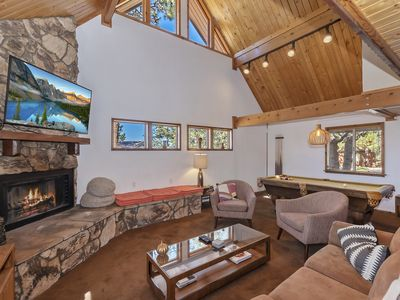 Photo for Resting Falcon: Retreat in Seclusion and Serenity! Minutes from Bear Mtn! Hot Tub! Pool Table!