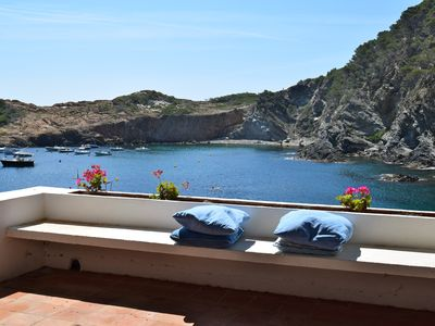 Photo for Sa Tuna -Begur is in one of the most beautiful beaches of the Costa Brava