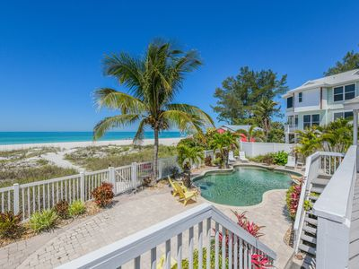 TOES IN THE SAND! GULF FRONT HOME WITH HEATED POOL, GORGEOUS!