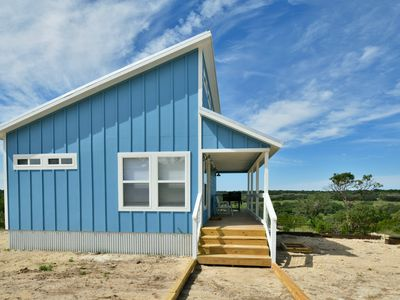 Photo for Tiny House Living in the Texas Hill Country - The Blue Casita at Caballo Creek