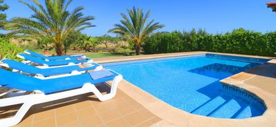 Photo for Cas Forner big villa with swimming pool in the middle of nature 410