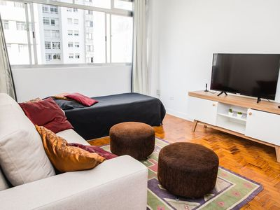 Photo for Great Santa Cecilia apartment, 2 blocks from the subway