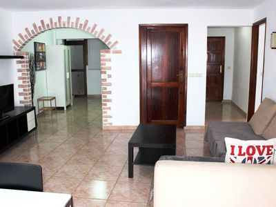 Photo for Los Cristianos, magnificent apartment on the beach