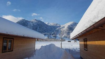Photo for NEW: Comfortable alpine chalet with fantastic mountain views