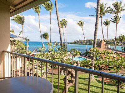 Photo for Napili Shores H-267 - Ocean Views- Free Parking / WiFi - Steps to Napili Bay