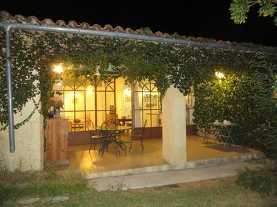 Photo for The Gite Vert at the Gites de Pardella, space and calm 5 mins from Calvi, 4 ***