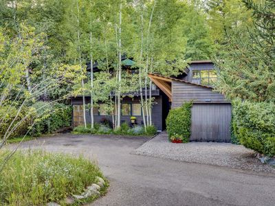 Photo for Beautiful in town river property in Aspen
