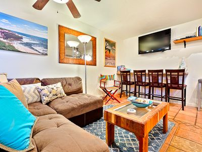 Photo for 25% OFF JUN - Steps to Beach w/ Hot Tub, Private Patio & BBQ