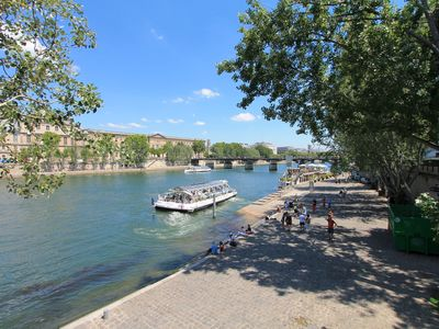 Photo for New listing - Luxurious Left Bank Apartment River views Orsay and Louvre Museums