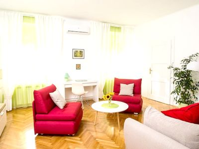 Photo for Homerez last minute deal - Beautiful apt in Zagreb and Wifi