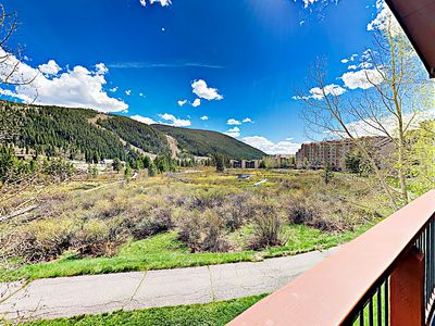 Balcony Views - Enjoy unobstructed views of Keystone Resort from the balcony.