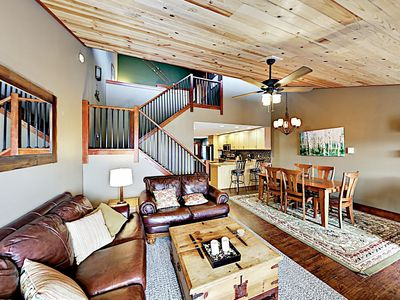 Main Living Area  - Welcome to Steamboat Springs! This home is professionally managed by TurnKey Vacation Rentals.