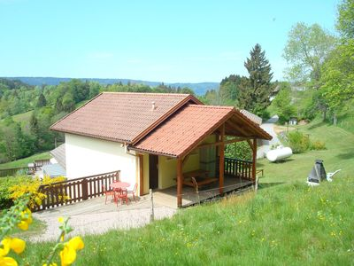 Photo for Chalet of 30 m2 capacity Front 4 people in the Vosges