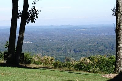 You can see the smokies from here