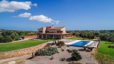 Photo for Finca with swimming pool, playground, 5km from the beach Es Trenc, Campos, Mallorca
