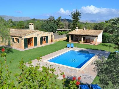 Photo for Can Roig-Majorcan villa with a beautiful garden and swimming pool 041