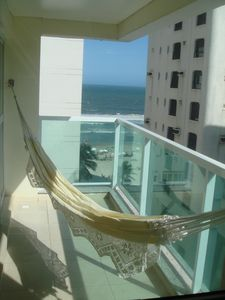 Photo for Spacious apartment with partial sea view