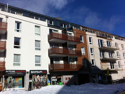 Photo for New apartment 52m² for 6 people on the slopes in the heart of statio