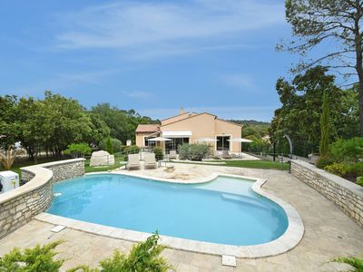 Photo for Surprisingly designed luxury villa with heated private pool within walking distance village