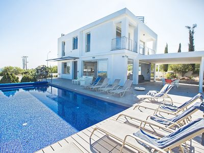 Photo for Villa Chloe,Luxury 4BDR Cape Greco Villa,close to the beach with panoramic views