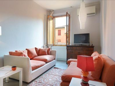 Photo for D'Azeglio I apartment in Bologna with WiFi & integrated air conditioning.