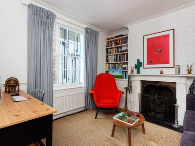 Photo for Contemporary 2BR with patio in Chelsea, mins to Battersea Park, by Veeve