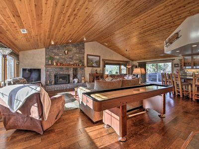 Photo for Luxe Castle Glen Home- Hot Tub, 2 Decks, Game Room
