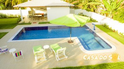 Photo for Wonderful house with pool connected to nature - Cond. with access to the beach