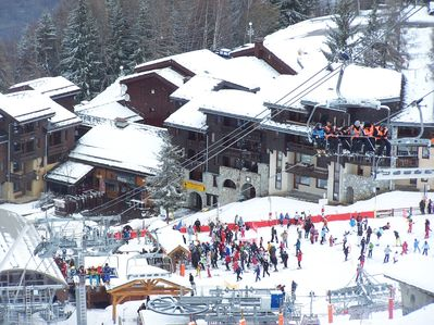 Photo for Apartment 6 people, ski slopes, all comfort