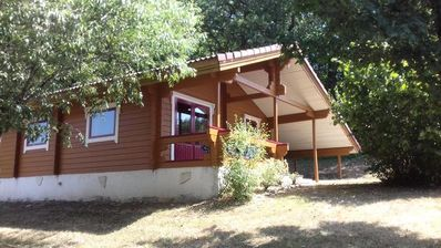 Photo for Camping Chalets du Soleil - 3 room chalet Cahors 4 people