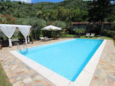 Photo for Alleinstehendes Haus mit privatem pool fur 4/5 Personen