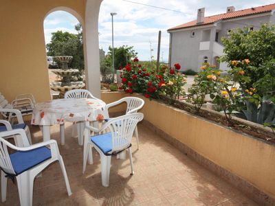 Photo for Two bedroom apartment with terrace Punat, Krk (A-5350-b)